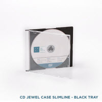 CD Jewel Case Black Tray